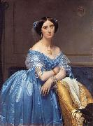 Jean-Auguste Dominique Ingres Portrait of the Princess Albert de Broglie oil painting reproduction