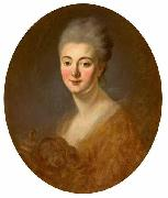 Portrait of Elisabeth-Sophie-Constance de Lowendhal, Countess of Turpin de Crisse