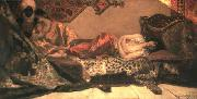 Jean-Joseph Benjamin-Constant Odalisque oil painting reproduction