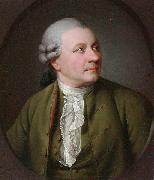 Jens Juel Portrait of Friedrich Gottlieb Klopstock (1724-1803), German poet oil painting artist