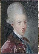 Jens Juel Portrait of Christian VII of Denmark oil painting artist