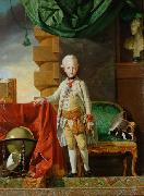 Johann Zoffany Kaiser Franz oil painting reproduction