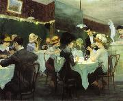 Renganeschi's Saturday Night (1912) by John Sloan
