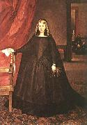 Empress Dona Margarita de Austria in Mourning Dress