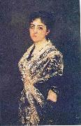 A portrait of the young Marchioness of Monte Olivar