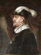 Karel van Mander Christian oil painting