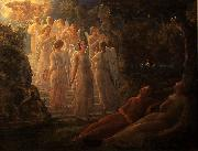 Louis Janmot The golden stairs oil painting reproduction