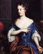 Mary Beale Self portrait oil painting reproduction
