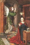 Master of Moulins The Annunciation oil painting reproduction