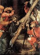 Matthias Grunewald Carrying the Cross oil painting reproduction