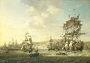 The Anglo-Dutch fleet in the Bay of Algiers