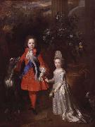 Portrait of Prince James Francis Edward Stuart and Princess Louisa Maria Theresa Stuart