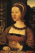 Oostsanen, Jacob Cornelisz van Portrait Of A Lady Queen Elizabeth Of Denmark oil painting