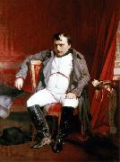 Napoleon Bonaparte abdicated in Fontainebleau