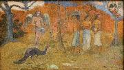 Paul Gauguin The Judgement of Paris oil painting reproduction