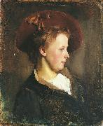 A Lady in a Red Hat
