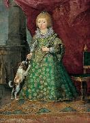 Unknown Polish Princess of the Vasa dynasty in Spanish costume