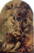 Peter Paul Rubens Small Last Judgement oil painting reproduction