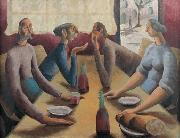 Peter Purves Smith French Cafe oil painting reproduction
