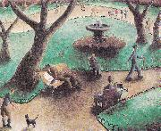 Peter Purves Smith The Park oil painting reproduction