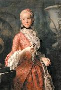 Portrait of Marie Kunigunde of Saxony (1740-1826), Abbess of Thorn and Essen, daughter of Augustus III of Poland
