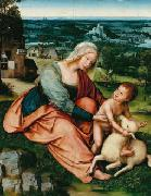 Quentin Matsys Madonna and Child with the Lamb. oil painting