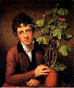 Rubens Peale with a Geranium
