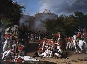 Death of Colonel Moorhouse at the Storming of the Pettah Gate of Bangalore