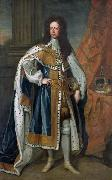 Portrait of King William III of England (1650-1702) in State Robes