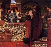 Hadrian Visiting a Romano-British Pottery Sir Lawrence Alma-Tadema