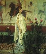 A Greek Woman Sir Lawrence Alma-Tadema
