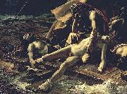 Detail from The Raft of the Medusa