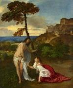 Titian Noli me tangere oil painting reproduction