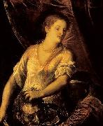 Titian Judith with the head of Holofernes oil painting reproduction