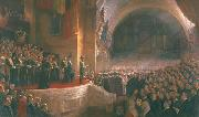 Opening of the First Parliament of the Commonwealth of Australia by H.R.H. The Duke of Cornwall and York