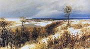 Vasiliy Polenov Early Snow oil painting reproduction