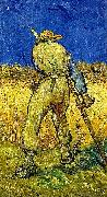 Vincent Van Gogh Reaper oil painting reproduction