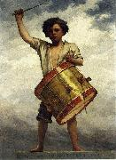William Morris Hunt The Drummer Boy oil painting artist