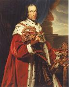 ZIMMERMANN  Johann Baptist Portrait of Elector oil painting
