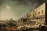 antonio canaletto Vincent Languet oil painting