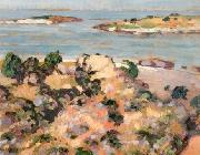 konrad magi Shore of Saaremaa oil painting on canvas