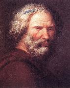 Oil painting of Archimedes by the Sicilian artist Giuseppe Patania