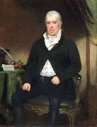 Oil on canvas painting of Thomas Assheton-Smith. Welsh business manand later Member of Parliament for Caernarvonshire.