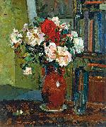 unknow artist Roses oil painting reproduction