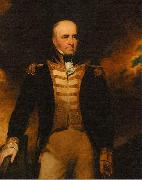 Oil Painting portrait of Vice Admiral William Lukin (1768-1833) painted by George Clint