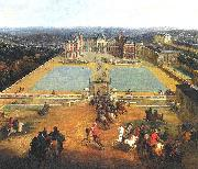 Painting of the Chateau de Meudon,