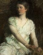 Abbot H Thayer Young Woman oil painting