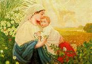 Adolf Hitler Mother Mary with the Holy Child Jesus Christ oil painting