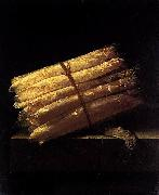 Adriaen Coorte Still-Life with Asparagus oil painting