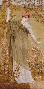 Albert Joseph Moore Prints A Garden oil painting